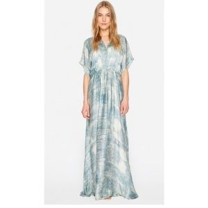 Johnny Was • Biya Diem Silk Maxi Dress • S